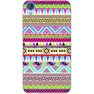 1 Crazy Designer Aztec Girly Tribal Back Cover Case For HTC Desire 820 C280051
