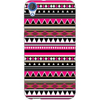1 Crazy Designer Aztec Girly Tribal Back Cover Case For HTC Desire 820 C280055