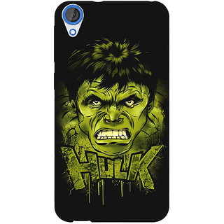 1 Crazy Designer Superheroes Hulk Back Cover Case For HTC Desire 820 C280324