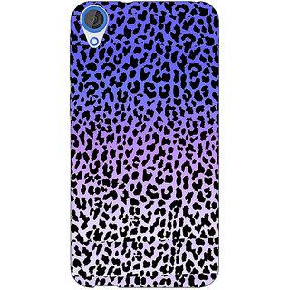 1 Crazy Designer Cheetah Leopard Print Back Cover Case For HTC Desire 820Q C290082