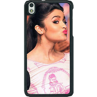 1 Crazy Designer Bollywood Superstar Alia Bhatt Back Cover Case For HTC Desire 816 C380966