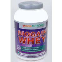 Tara Nutricare Biogain Whey Protein 1kg Strawberry  Flavour