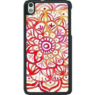 1 Crazy Designer Flower Floral Pattern Back Cover Case For HTC Desire 816G C400204
