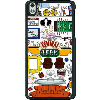 1 Crazy Designer FRIENDS Back Cover Case For HTC Desire 816G C400450