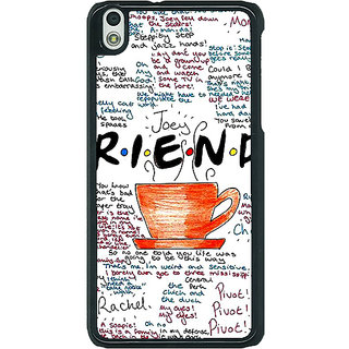 1 Crazy Designer FRIENDS Back Cover Case For HTC Desire 816G C400451