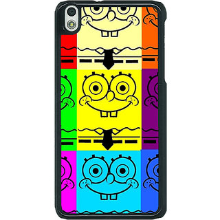 1 Crazy Designer Spongebob Back Cover Case For HTC Desire 816G C400462