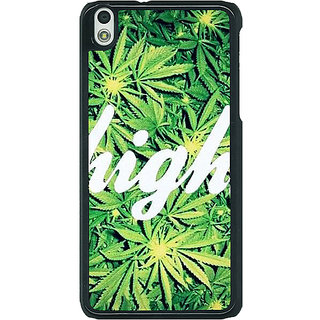 1 Crazy Designer Weed Marijuana Back Cover Case For HTC Desire 816G C400493