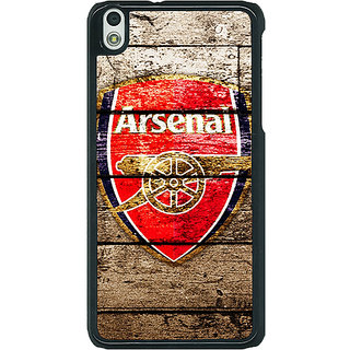 1 Crazy Designer Arsenal Back Cover Case For HTC Desire 816G C400507
