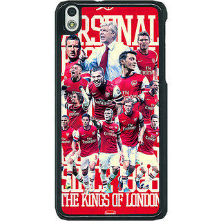 1 Crazy Designer Arsenal Back Cover Case For HTC Desire 816G C400518