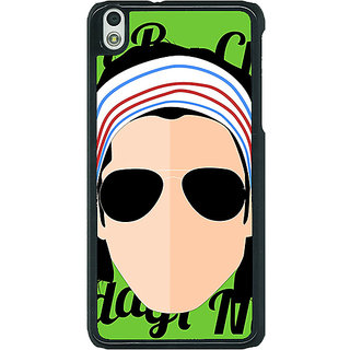 1 Crazy Designer Bollywood Superstar Rock On Back Cover Case For HTC Desire 816G C401100