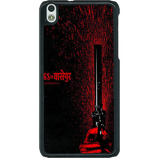 1 Crazy Designer Bollywood Superstar Gangs Of Wasseypur Back Cover Case For HTC Desire 816G C401102