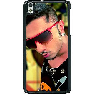 1 Crazy Designer Bollywood Superstar Honey Singh Back Cover Case For HTC Desire 816G C401181