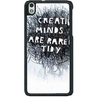 1 Crazy Designer Quote Back Cover Case For HTC Desire 816G C401356