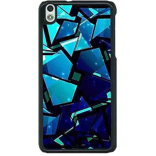 1 Crazy Designer Crystal Prism Back Cover Case For HTC Desire 816G C401412
