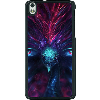 1 Crazy Designer Paisley Beautiful Peacock Back Cover Case For HTC Desire 816G C401594