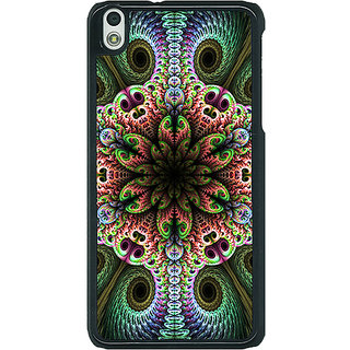 1 Crazy Designer Paisley Beautiful Peacock Back Cover Case For HTC Desire 816G C401597