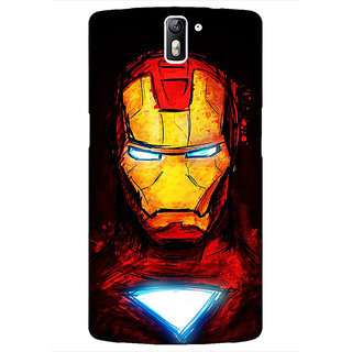 1 Crazy Designer Superheroes Ironman Back Cover Case For OnePlus One C410030