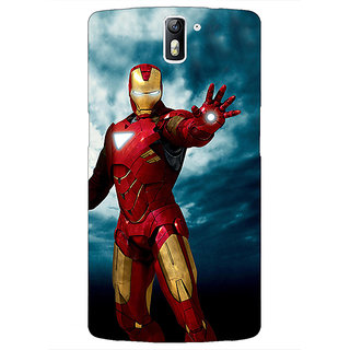 1 Crazy Designer Superheroes Ironman Back Cover Case For OnePlus One C410031