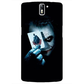 1 Crazy Designer Villain Joker Back Cover Case For OnePlus One C410032