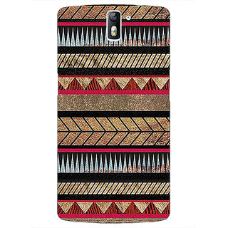 1 Crazy Designer Aztec Girly Tribal Back Cover Case For OnePlus One C410056