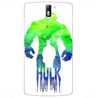 1 Crazy Designer Superheroes Hulk Back Cover Case For OnePlus One C410325