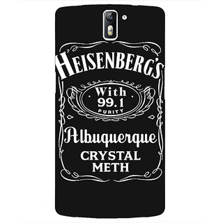 1 Crazy Designer Breaking Bad Heisenberg Back Cover Case For OnePlus One C410402