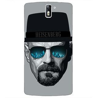 1 Crazy Designer Breaking Bad Heisenberg Back Cover Case For OnePlus One C410413