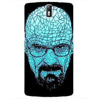1 Crazy Designer Breaking Bad Heisenberg Back Cover Case For OnePlus One C410428