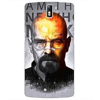 1 Crazy Designer Breaking Bad Heisenberg Back Cover Case For OnePlus One C410429