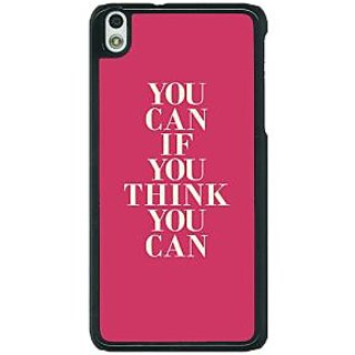 1 Crazy Designer Quotes Back Cover Case For HTC Desire 816G C401193