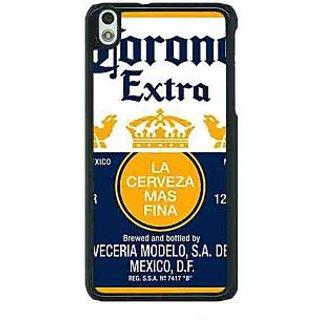 1 Crazy Designer Corona Beer Back Cover Case For HTC Desire 816G C401246