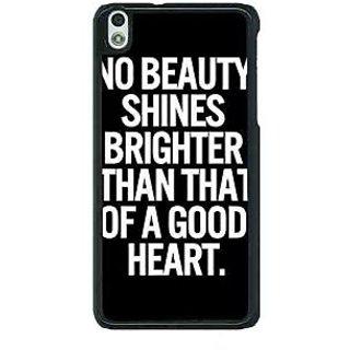 1 Crazy Designer Quote Back Cover Case For HTC Desire 816G C401474