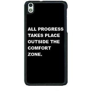 1 Crazy Designer Quote Back Cover Case For HTC Desire 816G C401475
