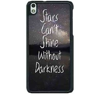 1 Crazy Designer Quote Back Cover Case For HTC Desire 816G C401478