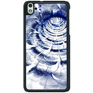 1 Crazy Designer Abstract Flower Pattern Back Cover Case For HTC Desire 816G C401521