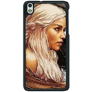 1 Crazy Designer Game Of Thrones GOT Khaleesi Daenerys Targaryen Back Cover Case For HTC Desire 816G C401534