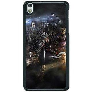 1 Crazy Designer Game Of Thrones GOT All Back Cover Case For HTC Desire 816G C401535
