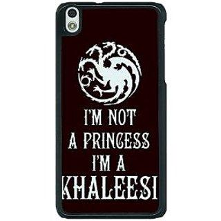1 Crazy Designer Game Of Thrones GOT Princess Khaleesi Back Cover Case For HTC Desire 816G C401537