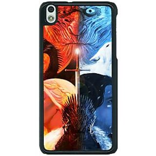 1 Crazy Designer Game Of Thrones GOT Khaleesi Daenerys Targaryen House Stark Jon Snow Back Cover Case For HTC Desire 816G C401542