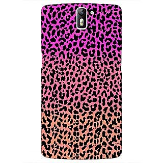 1 Crazy Designer Cheetah Leopard Print Back Cover Case For OnePlus One C410083