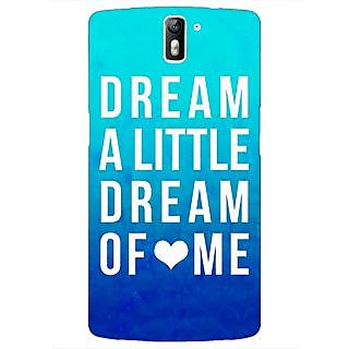 1 Crazy Designer Dream Love Back Cover Case For OnePlus One C410089