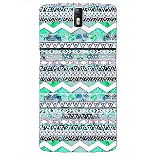 1 Crazy Designer Aztec Girly Tribal Back Cover Case For OnePlus One C410100