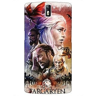 1 Crazy Designer Game Of Thrones GOT House Targaryen  Back Cover Case For OnePlus One C410139