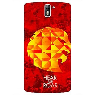 1 Crazy Designer Game Of Thrones GOT House Lannister  Back Cover Case For OnePlus One C410159