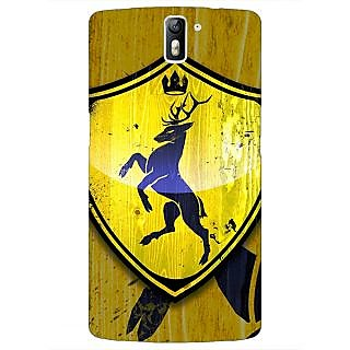 1 Crazy Designer Game Of Thrones GOT House Baratheon  Back Cover Case For OnePlus One C410167