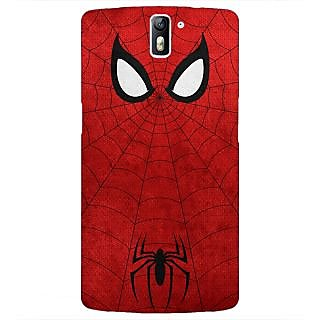 1 Crazy Designer Superheroes Spider Man Back Cover Case For OnePlus One C410340