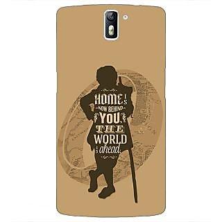 1 Crazy Designer LOTR Hobbit  Back Cover Case For OnePlus One C410368
