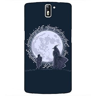 1 Crazy Designer LOTR Hobbit  Back Cover Case For OnePlus One C410378
