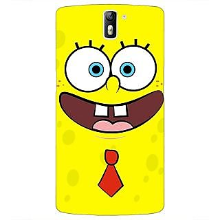 1 Crazy Designer Spongebob Back Cover Case For OnePlus One C410461