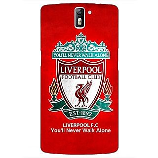 1 Crazy Designer Liverpool Back Cover Case For OnePlus One C410542